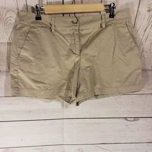 Ann Taylor LOFT Tan Shorts